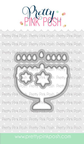 PRETTY PINK POSH:  Happy Hanukkah Die Set