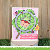 LAWN FAWN: Tiny Gift Box Ladybug Add-on | Lawn Cuts Die