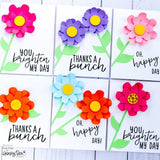 HONEY BEE STAMPS: Large Stitched Flower | Honey Cuts