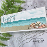 HONEY BEE STAMPS: Making Waves Long Border | Honey Cuts