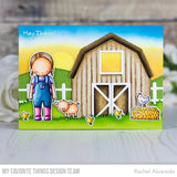 MFT STAMPS: Farm Fence | Die-namics