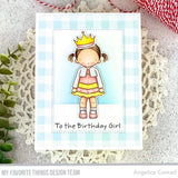 MFT STAMPS: PI Birthday Girl