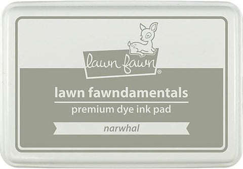 LAWN FAWN: Premium Dye Ink Pad (Narwhal)