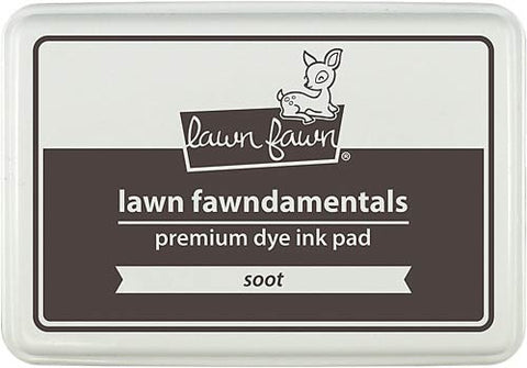 LAWN FAWN: Premium Dye Ink Pad (Soot)