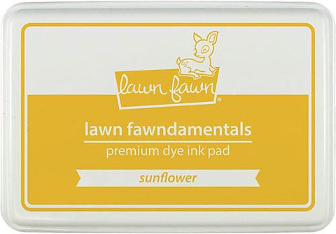 LAWN FAWN: Premium Dye Ink Pad (Sunflower)