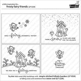 LAWN FAWN: Frosty Fairy Friends