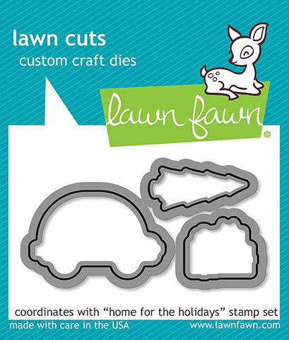 LAWN FAWN: Home For The Holidays Lawn Cuts Die