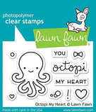 LAWN FAWN: Octopi My Heart