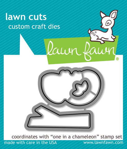 LAWN FAWN: One in a Chameleon Lawn Cuts Die