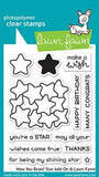 LAWN FAWN: How You Bean? Star Add-On