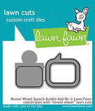 LAWN FAWN: Reveal Wheel Speech Bubble Add-on Lawn Cuts Die