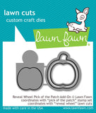 LAWN FAWN: Reveal Wheel Pick Of The Patch Add-On Lawn Cuts Die