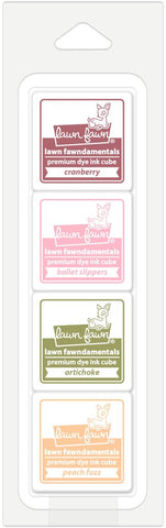 LAWN FAWN: Premium Dye Ink Cube 4/pk (Sunday Brunch)