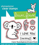 LAWN FAWN: I Love You (Calyptus) Lawn Cuts Die