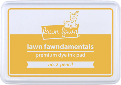 LAWN FAWN: Premium Dye Ink Pad (No. 2 Pencil)