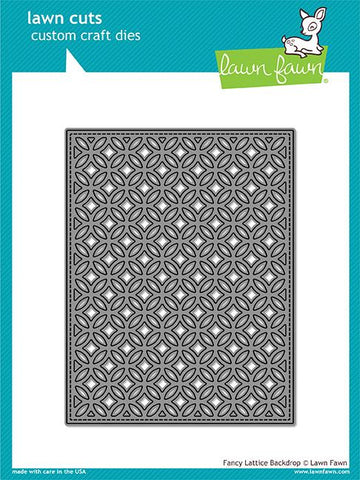 LAWN FAWN: Fancy Lattice Backdrop Lawn Cuts Die