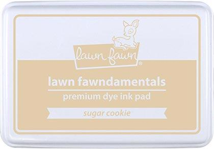 LAWN FAWN: Premium Dye Ink Pad (Sugar Cookie)