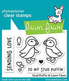 LAWN FAWN: Stud Puffin