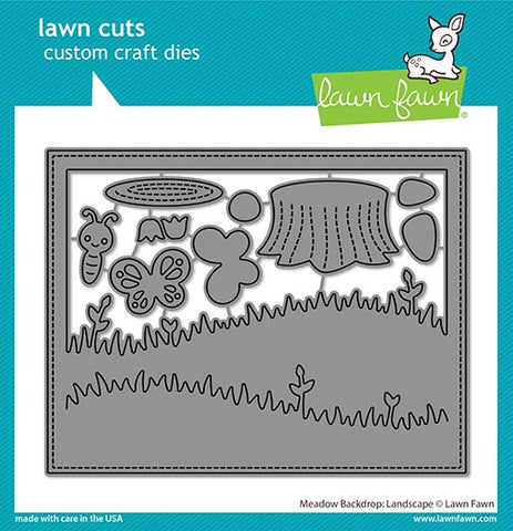 LAWN FAWN: Backdrop Meadow (Landscape) | Lawn Cuts Die
