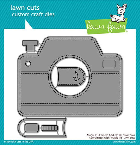 LAWN FAWN: Magic Iris Camera Add On | Lawn Cuts Die