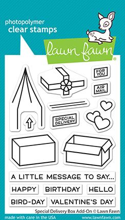 LAWN FAWN: Special Delivery Box Add-on
