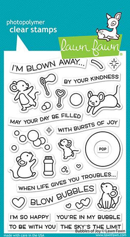 LAWN FAWN: Bubbles of Joy