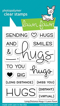 LAWN FAWN: Long Distance Hugs