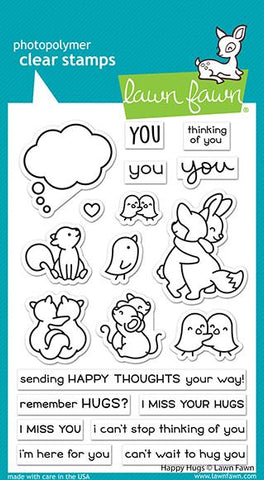 LAWN FAWN: Happy Hugs | Stamp
