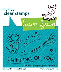 LAWN FAWN: Dandy Day Flip Flop | Stamp