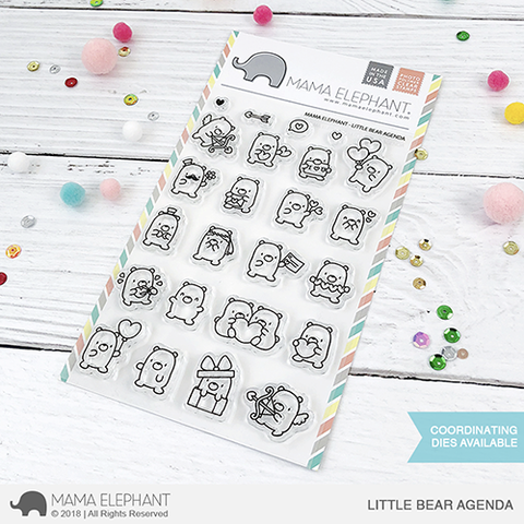 MAMA ELEPHANT: Little Bear Agenda