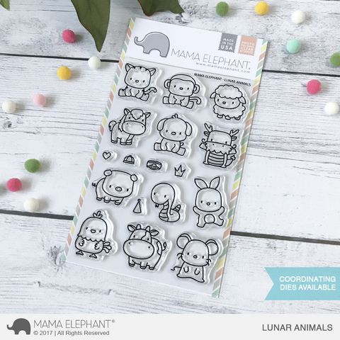 MAMA ELEPHANT: Lunar Animals