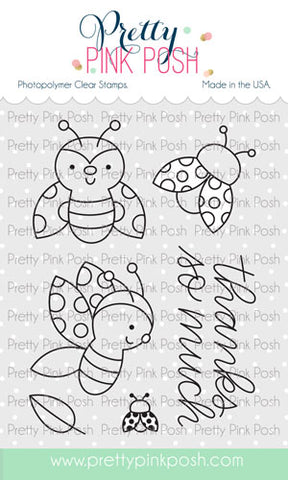 PRETTY PINK POSH:  Ladybug Friends | Stamp
