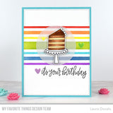 MFT STAMPS: Stencil | Candy Stripes