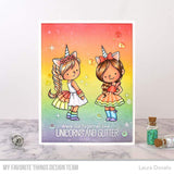 MFT STAMPS: BB Unicorns and Glitter | Stamp