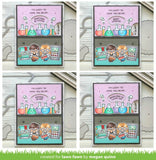 LAWN FAWN: Reveal Wheel Friends and Family Sentiments