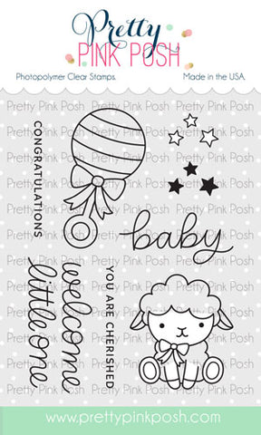 PRETTY PINK POSH:  Little One | Stamp
