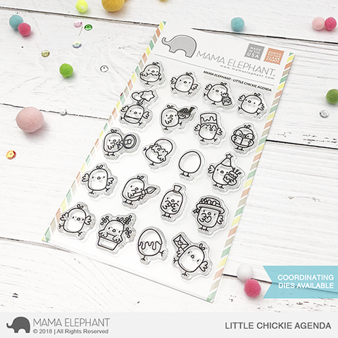 MAMA ELEPHANT: Little Chickie Agenda