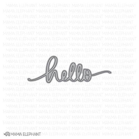 MAMA ELEPHANT: Hello Script Creative Cuts