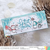 MAMA ELEPHANT: Let it Snow | Creative Cuts