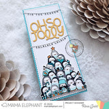 MAMA ELEPHANT: Holiday Word Banners | Stamp