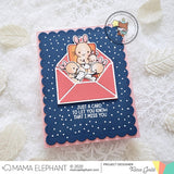 MAMA ELEPHANT: Sincerely Yours | Stamp