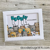 MAMA ELEPHANT: Framed Tags Madison Avenue Creative Cuts
