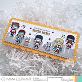 MAMA ELEPHANT: Slim Card Film City | Creative Cuts