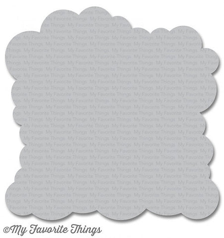 MFT STAMPS: Stencil - Cloud
