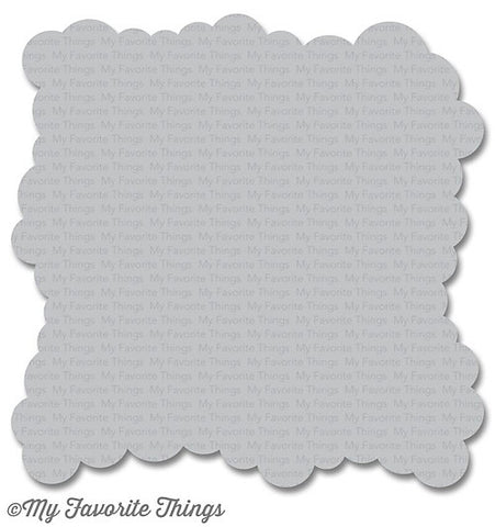 MFT STAMPS: Stencil - Mini Cloud Edges
