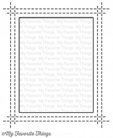 MFT STAMPS: Rectangle Peek-a-Boo Window Die-namics
