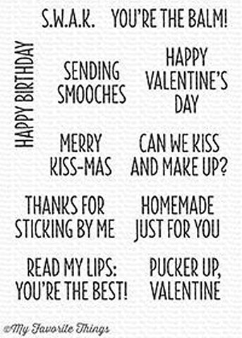 MFT STAMPS: Sending Smooches