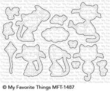 MFT STAMPS: Purrfect Friends