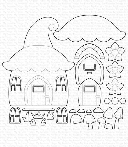 MFT STAMPS: BB Gnome Place Like Home | Die-namics