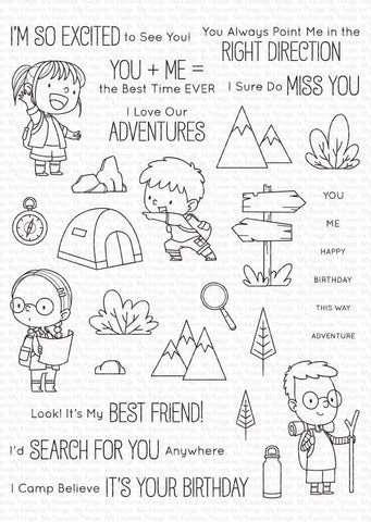 MFT STAMPS: BB Adorable Adventures | Stamp